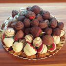 Jagode v čokoladi